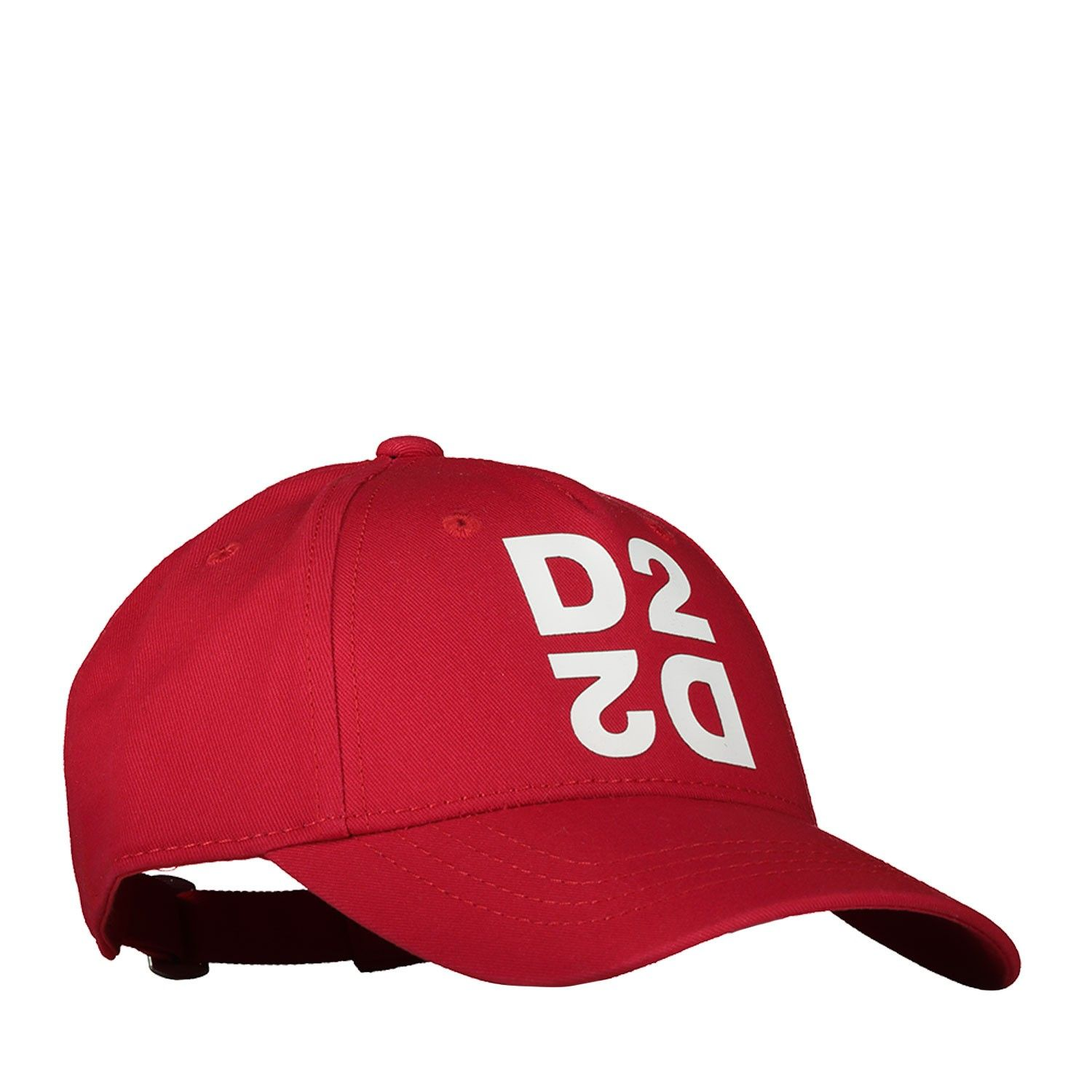 Picture of Dsquared2 DQ0424 baby hat red