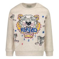 Picture of Kenzo KR15118B baby sweater light gray