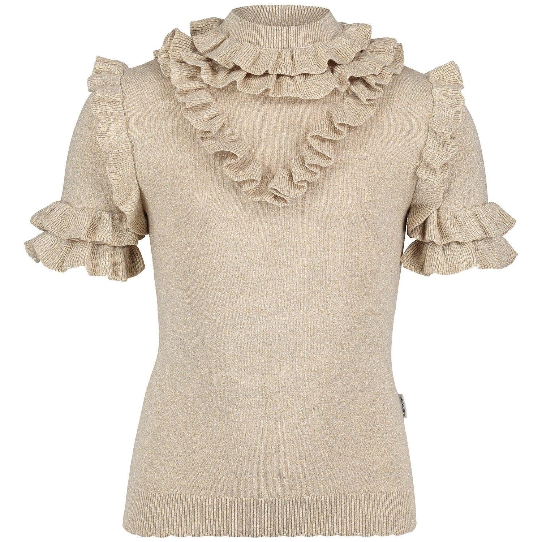 Afbeelding van Reinders VES19G514L kinder t-shirt licht beige