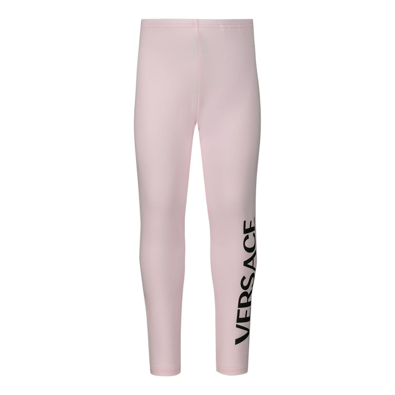 Afbeelding van Versace YA000141 baby legging licht roze