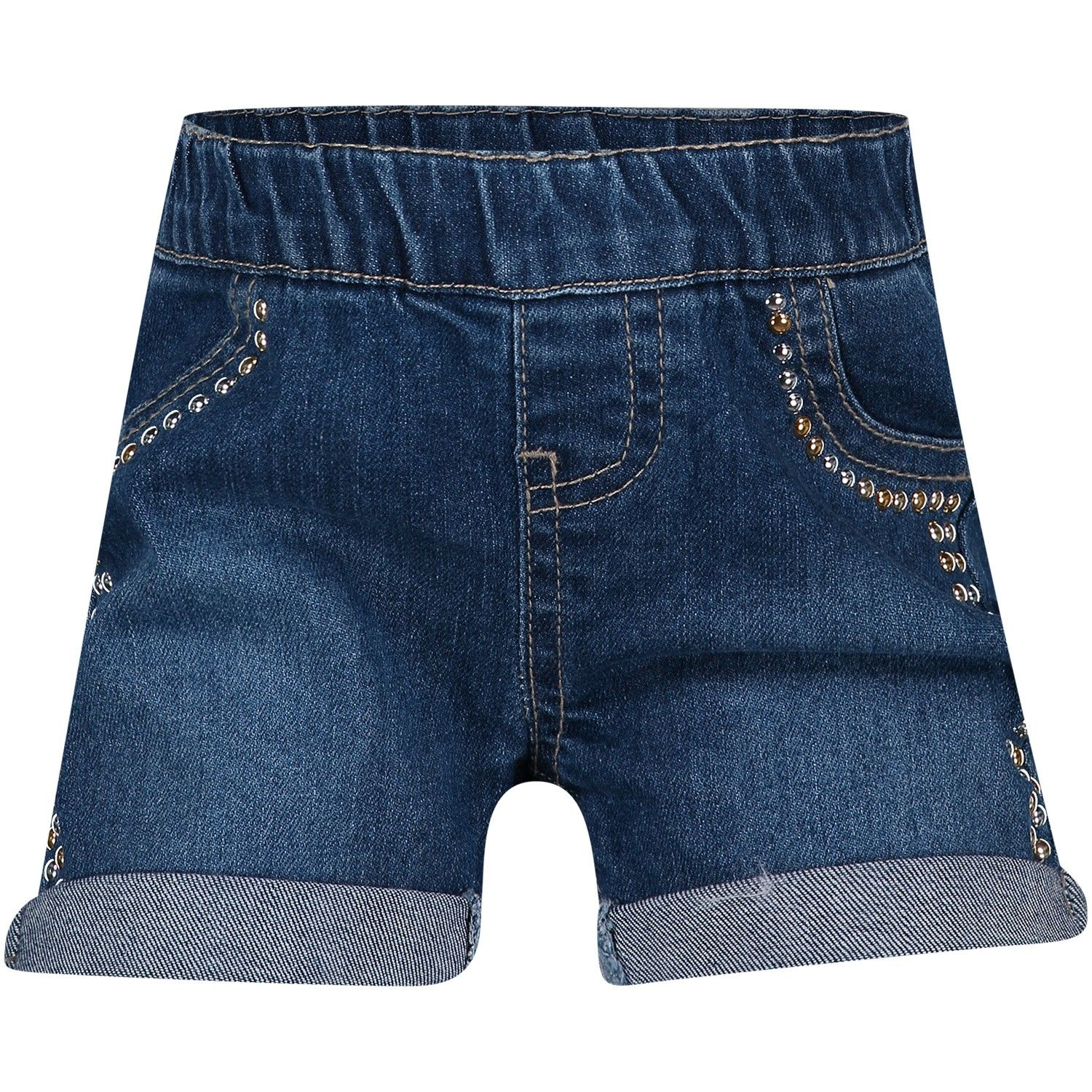 Picture of Guess A91D05 baby shorts jeans