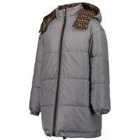 Picture of Fendi JUA109 AEZN kids jacket grey