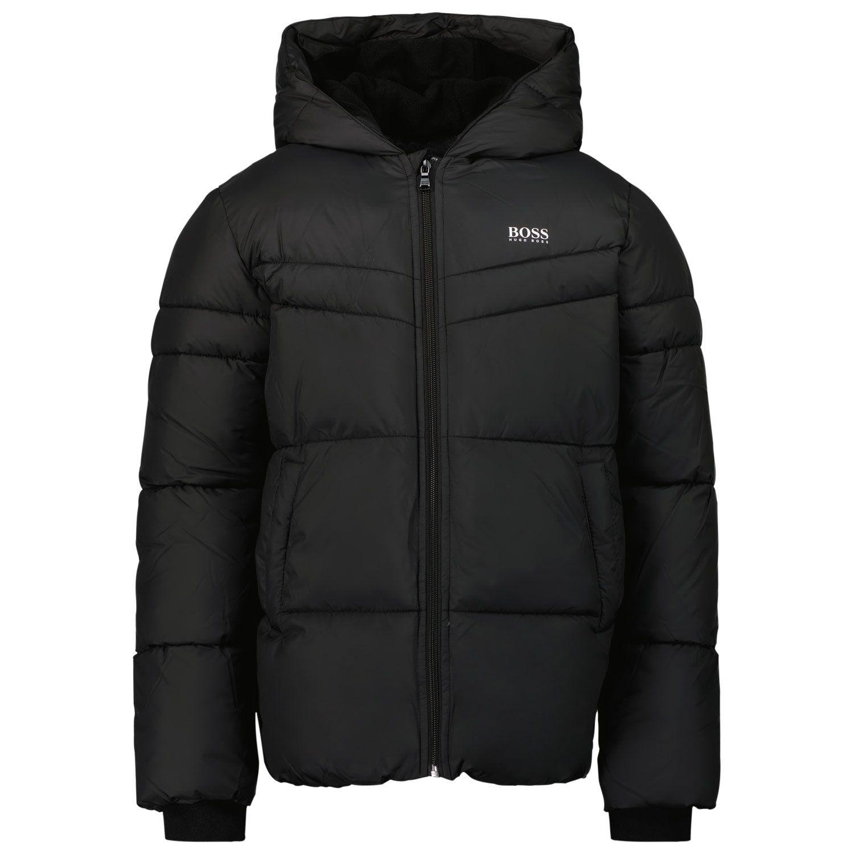 Picture of Boss J26458 kids jacket black