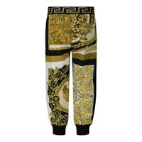 Picture of Versace 1000336 baby pants white