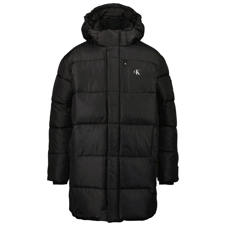 Picture of Calvin Klein IB0IB00947 kids jacket black