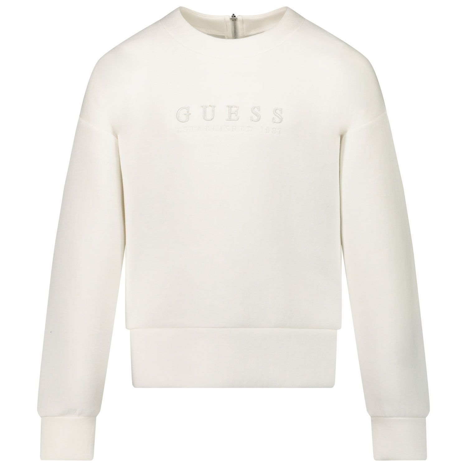 Picture of Guess J0BQ14/K7UW0 kids sweater off white