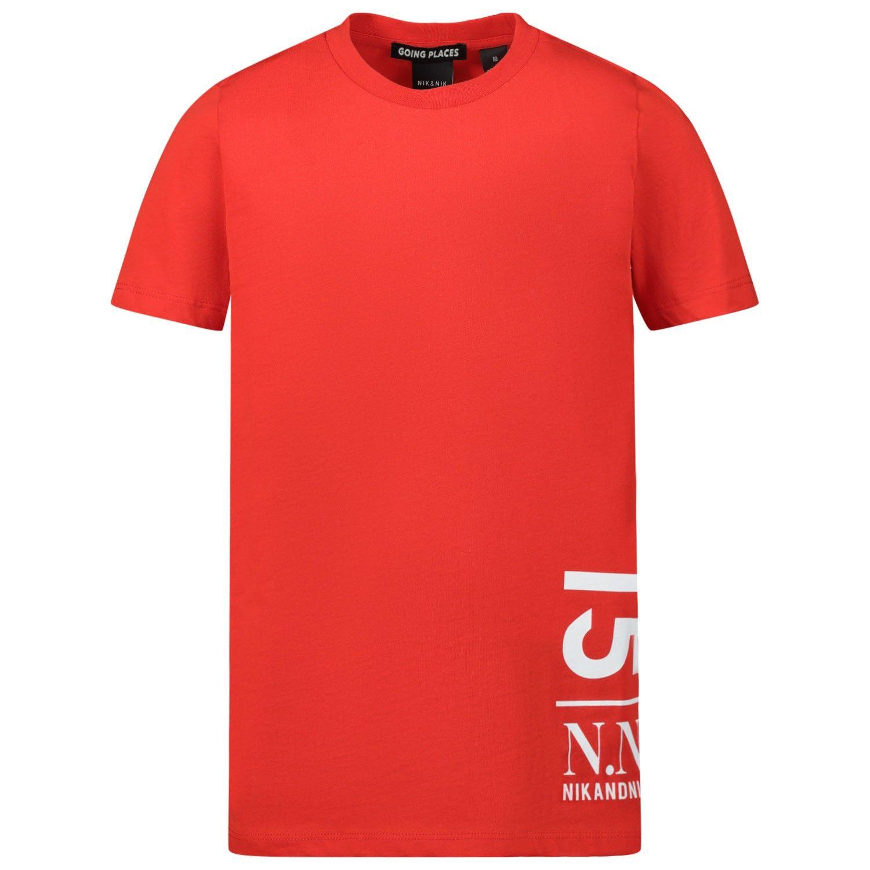 Bild von NIK&NIK B8766 Kindershirt Rot