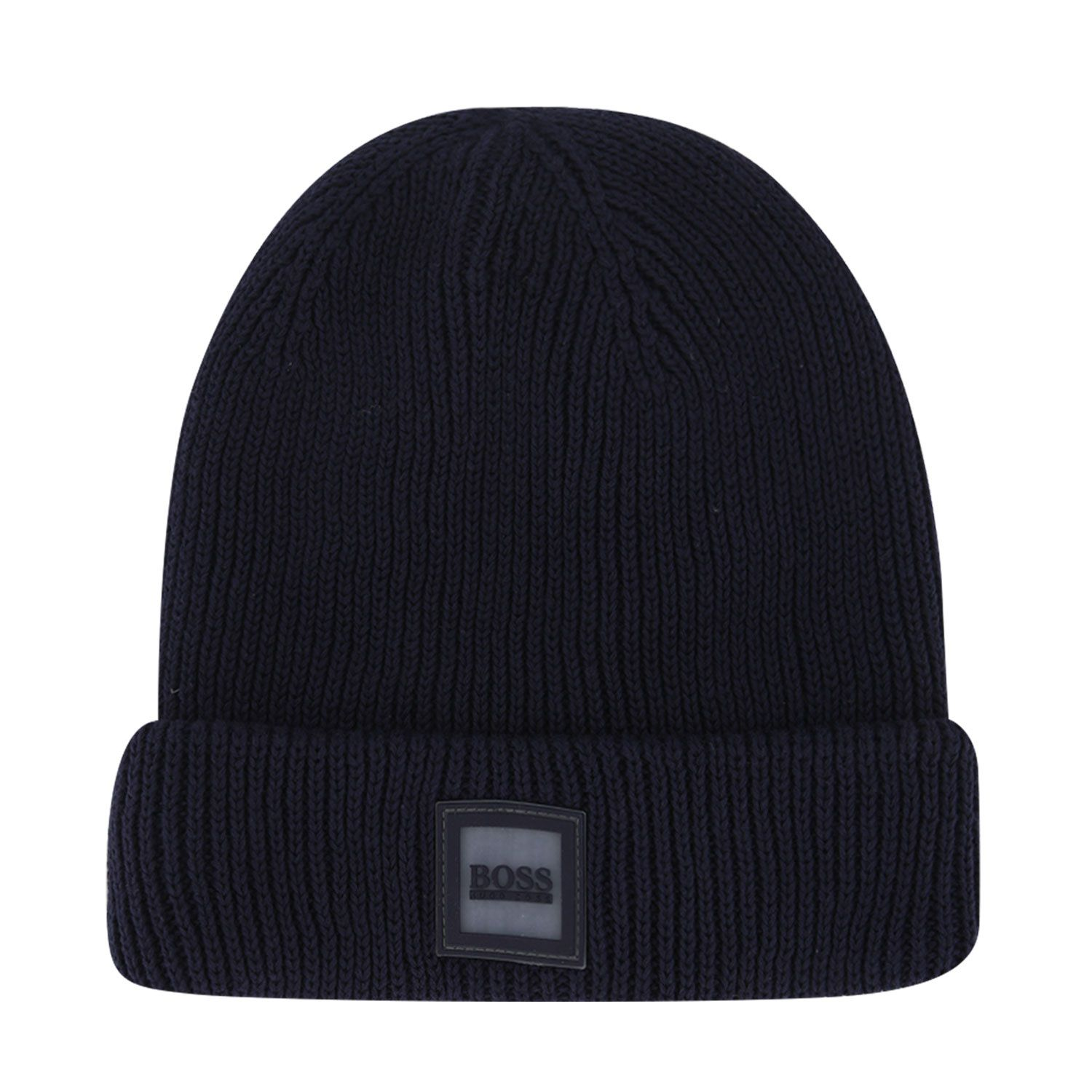 Picture of Boss J21242 kids hat navy