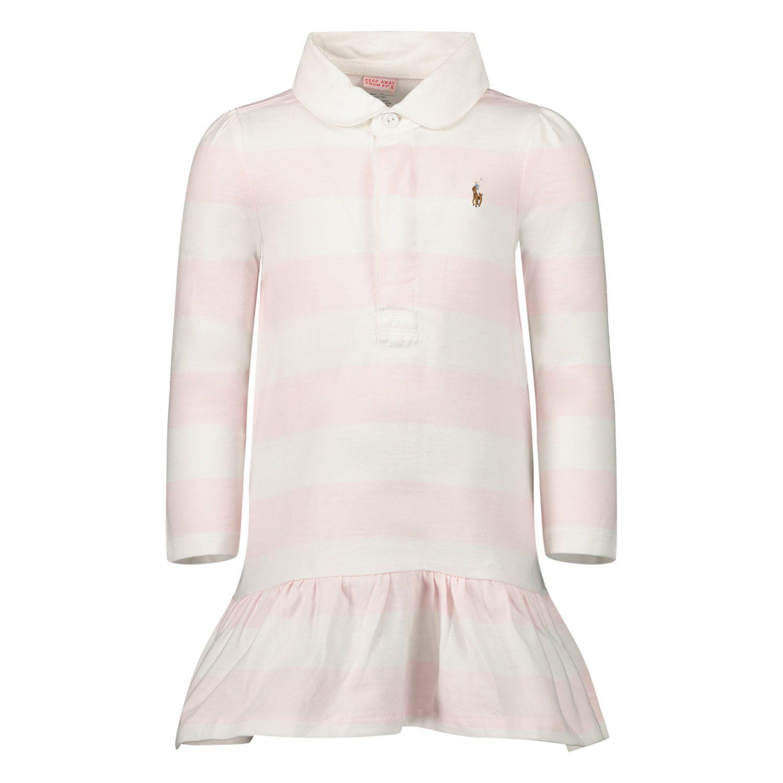 Afbeelding van Ralph Lauren 310748792 babyjurkje licht roze