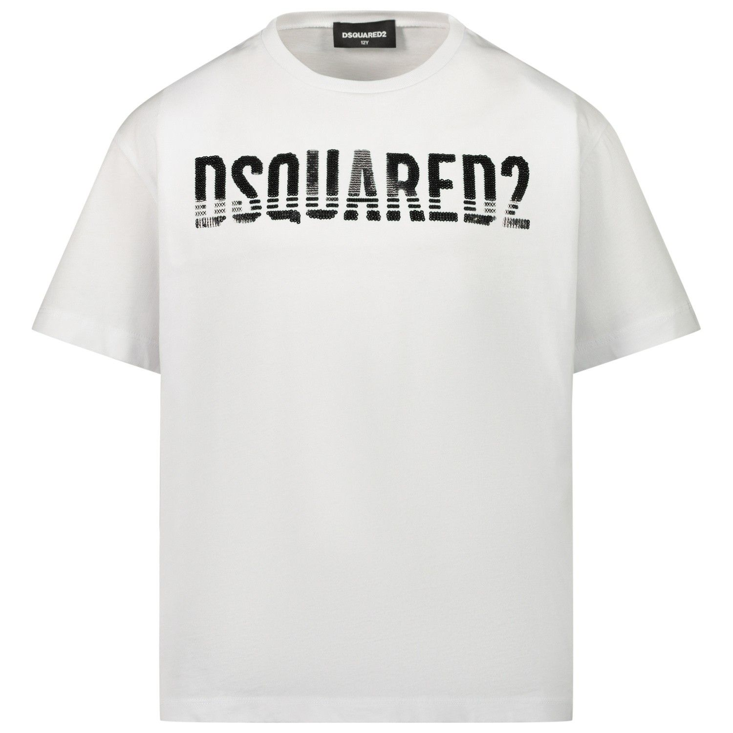 Picture of Dsquared2 DQ04BU kids t-shirt white