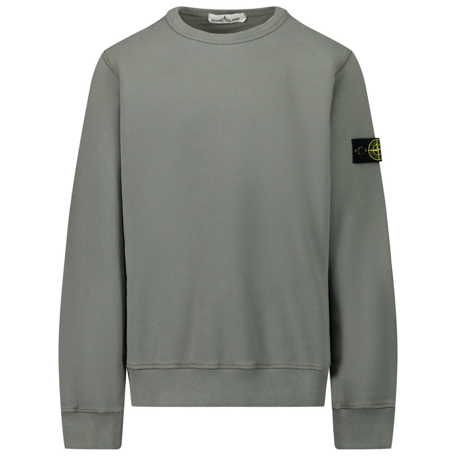 Picture of Stone Island MO731661340 kids sweater taupe