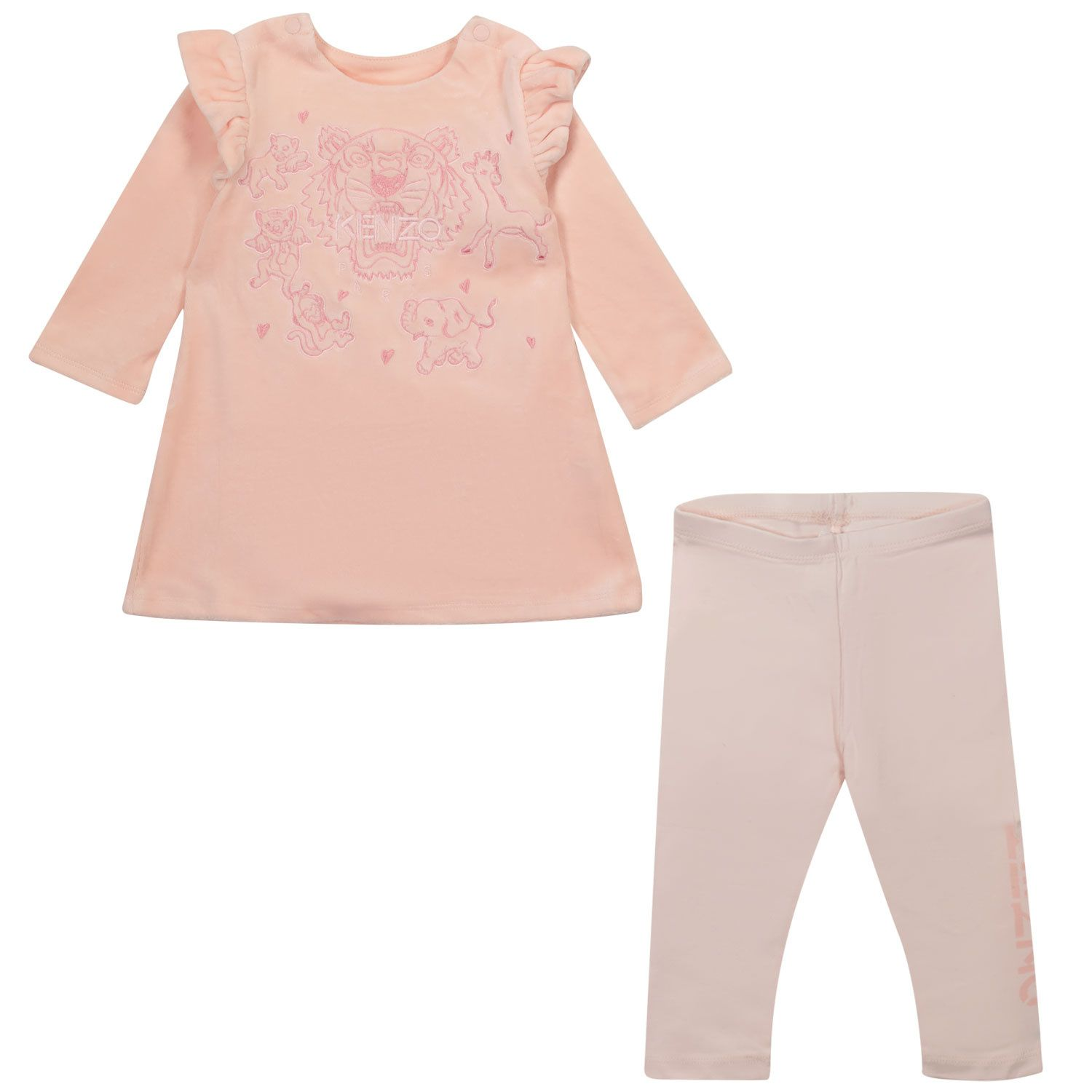 Picture of Kenzo K98011 baby set pink