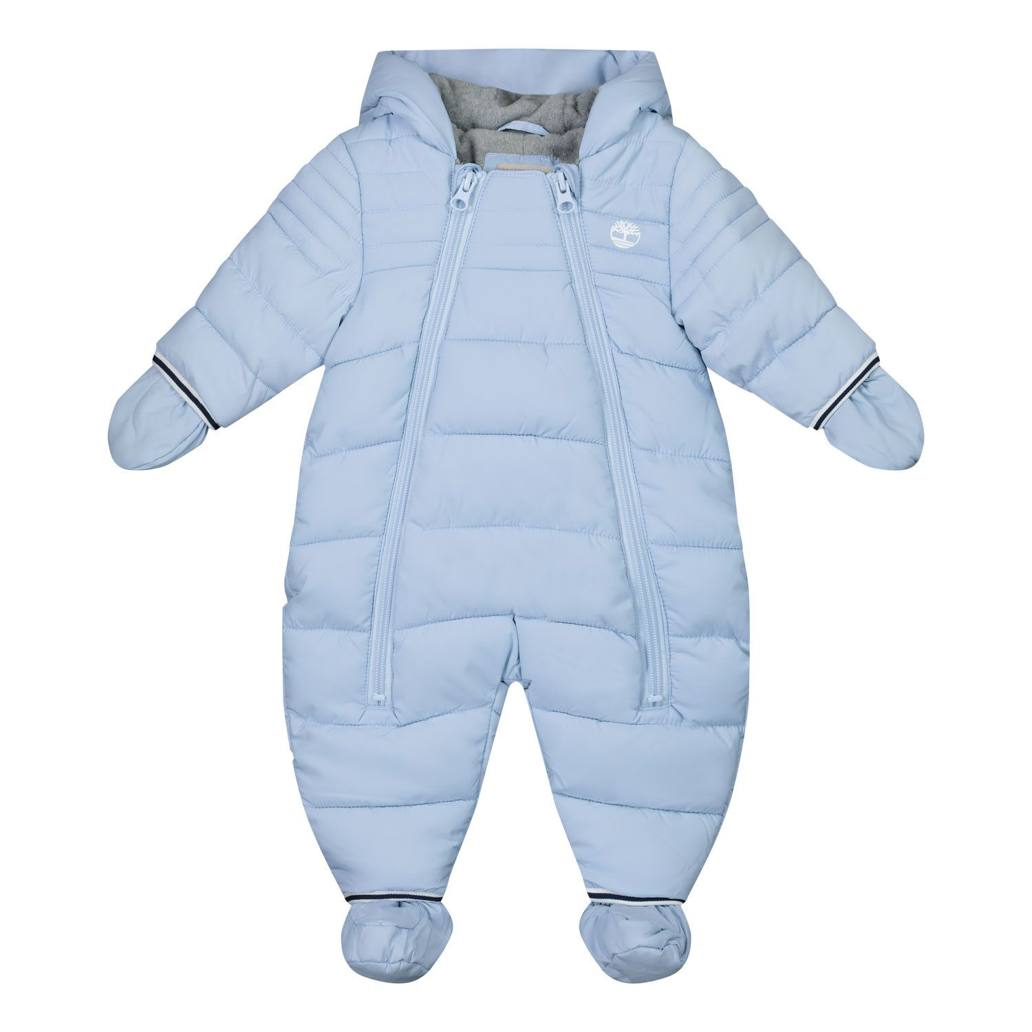 Picture of Timberland T96249 baby snowsuit light blue