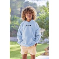 Picture of SEABASS HOODIE B baby sweater light blue
