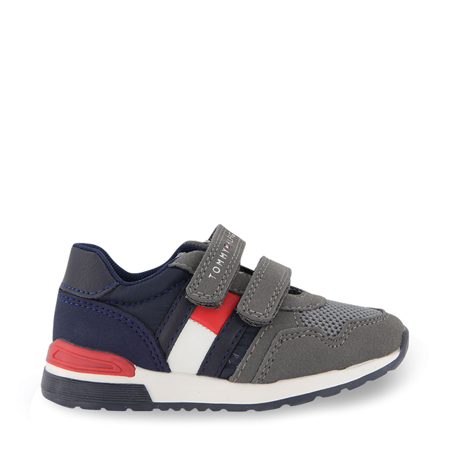 Picture of Tommy Hilfiger 30930 kids sneakers grey