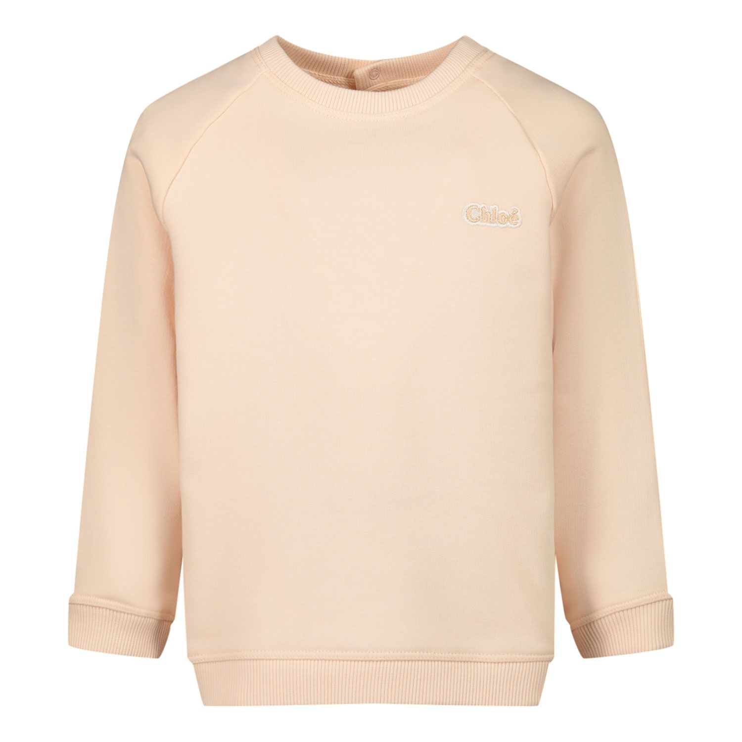 Picture of Chloé C05373 baby sweater salmon