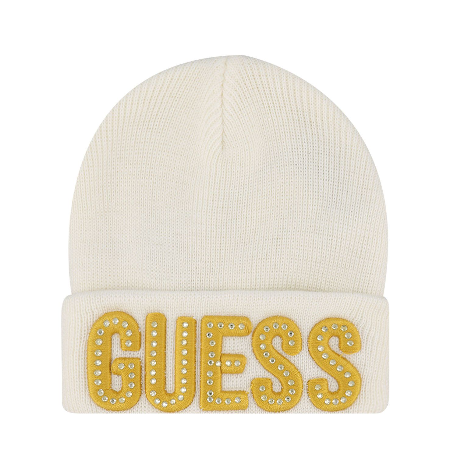 Picture of Guess A0BZ01/Z2QQ0B baby hat off white