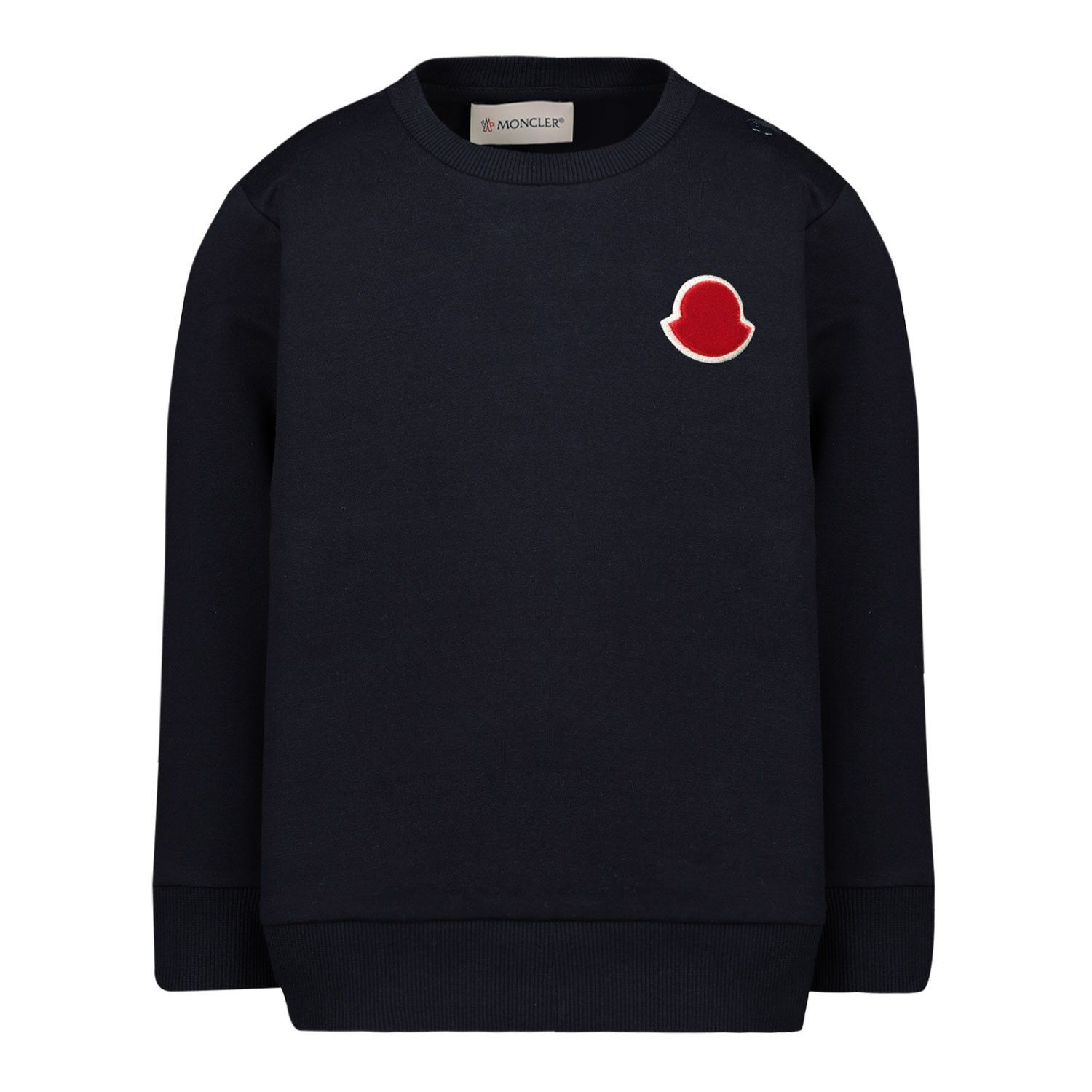Picture of Moncler 8G70620 baby sweater navy