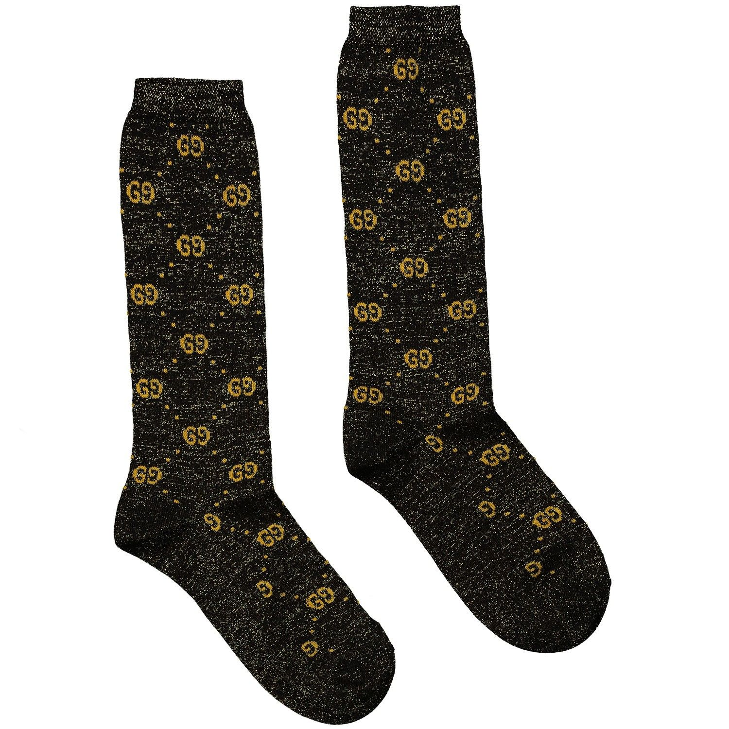 Picture of Gucci 480715 kids socks black