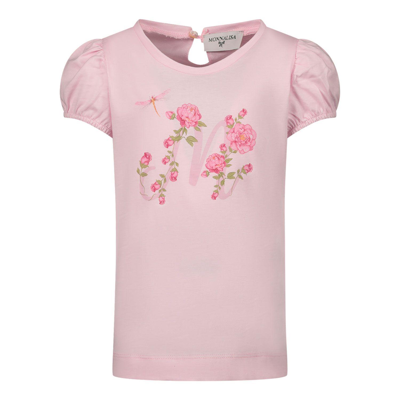 Afbeelding van MonnaLisa 317607SH baby t-shirt roze