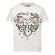 Bild von Kenzo K05039 Baby-T-Shirt Weiß
