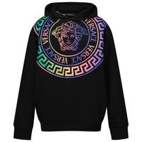 Picture of Versace 1000352 1A01337 kids sweater black