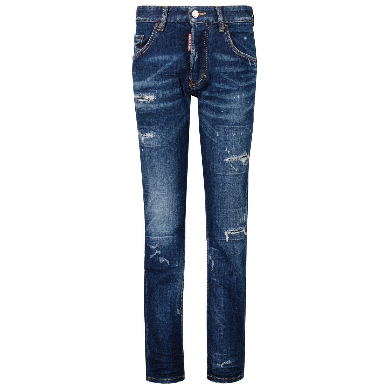 Afbeelding van Dsquared2 DQ03NP D007S kinderbroek jeans