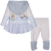 Picture of Lapin 212E5405 baby set light blue