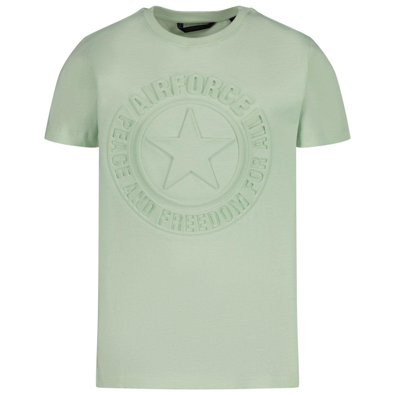 Afbeelding van Airforce TBB0750 kinder t-shirt mint
