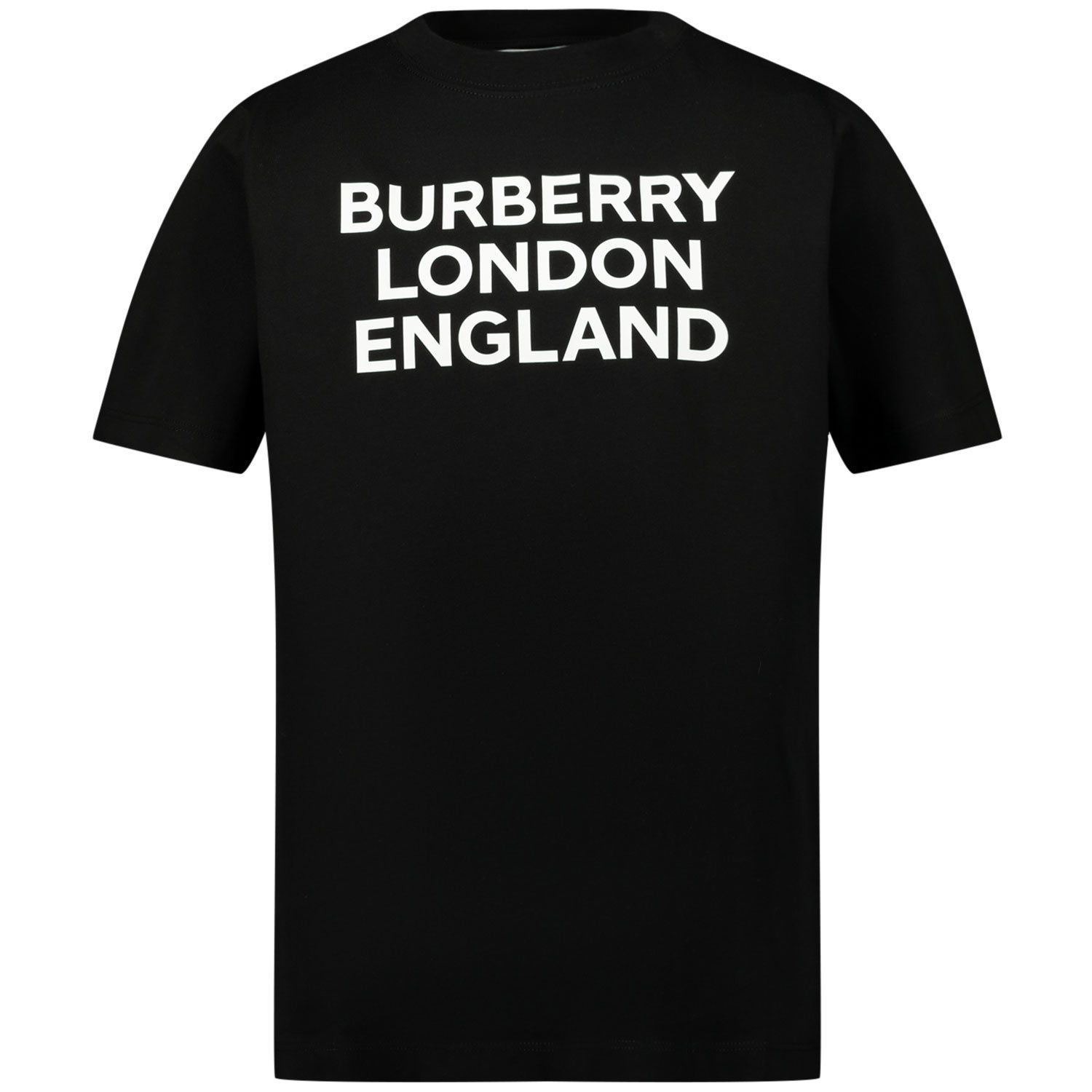 Picture of Burberry 8028809 kids t-shirt black