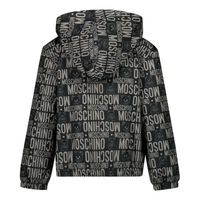 Picture of Moschino MNS01H baby coat black