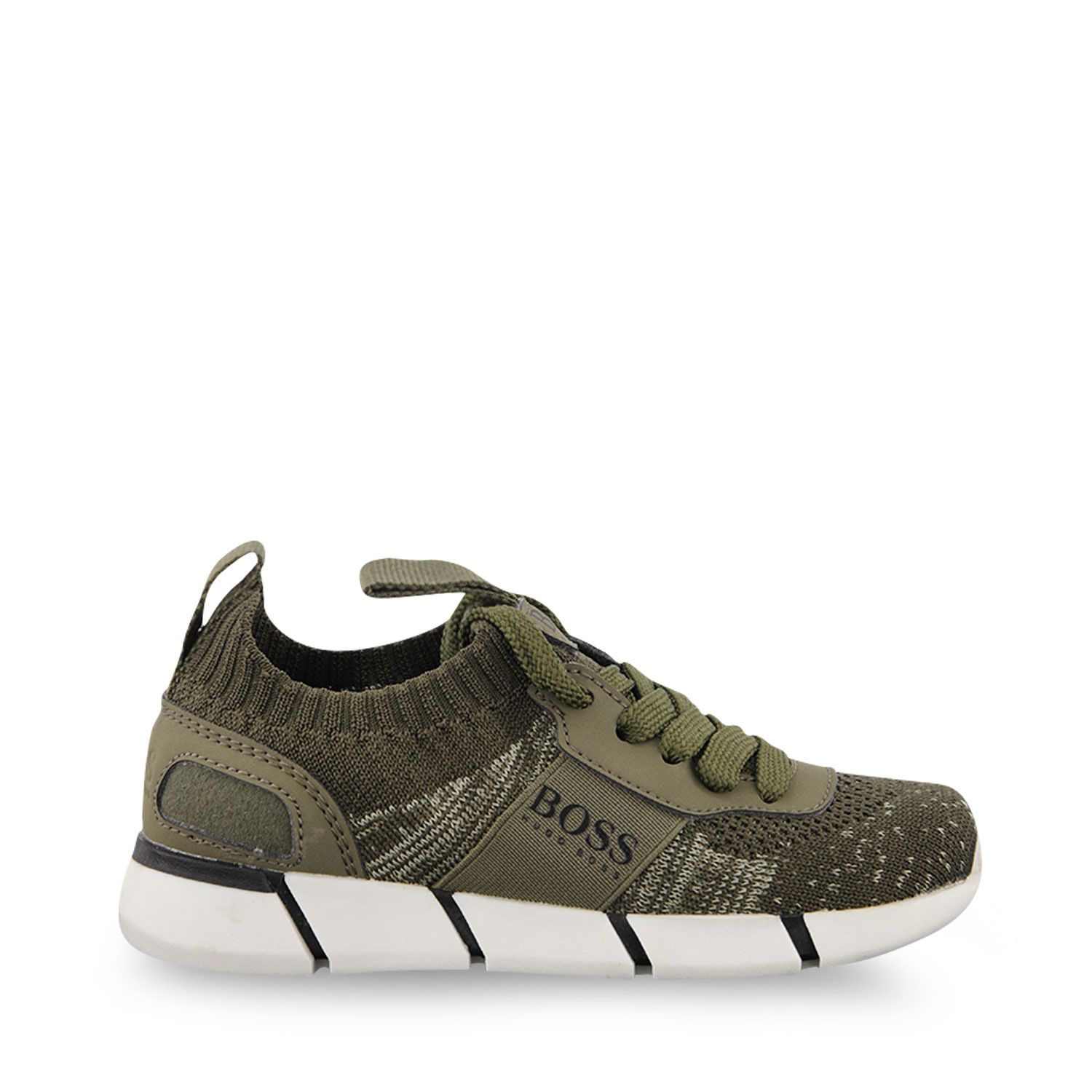 Picture of Boss J29252 kids sneakers army