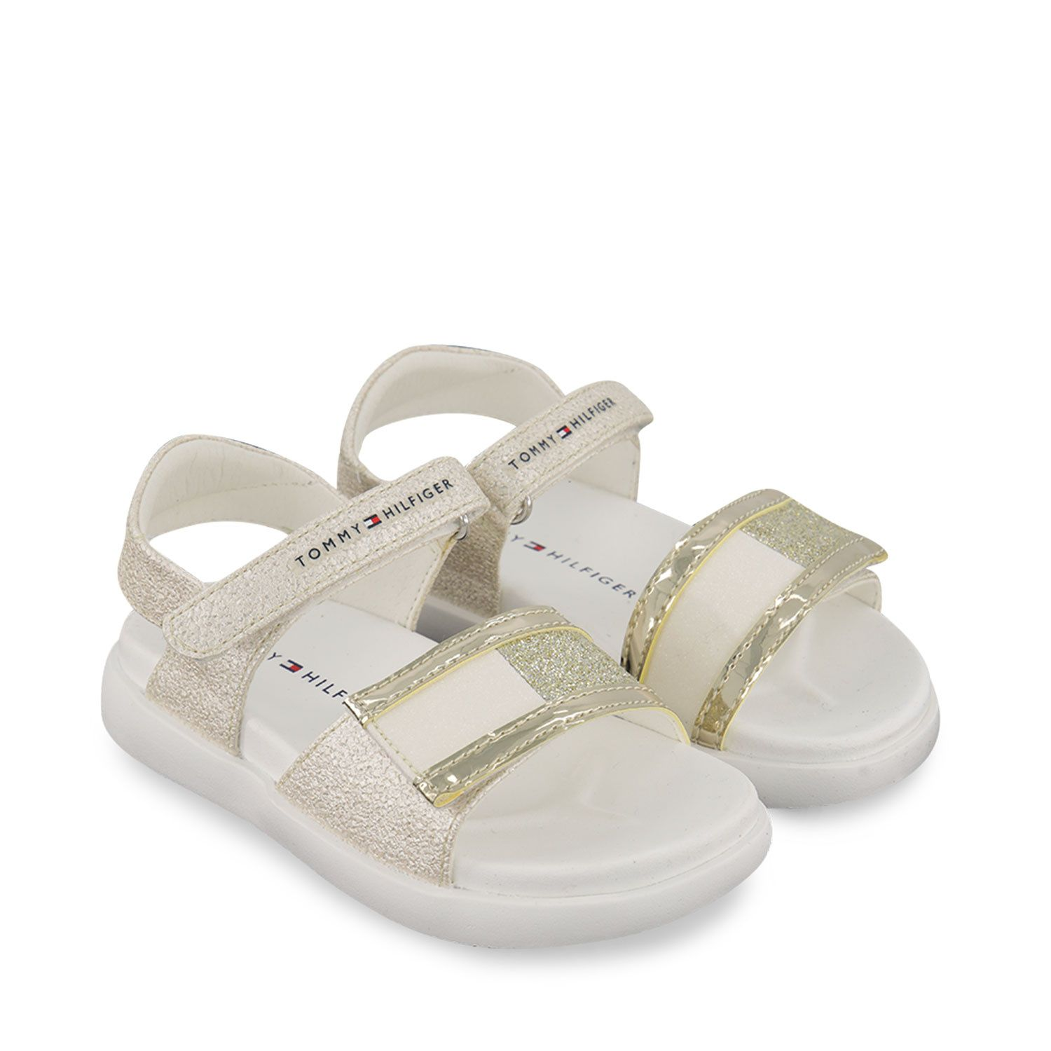 Picture of Tommy Hilfiger 31035 kids sandals gold
