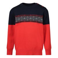 Picture of Boss J05859 baby sweater navy