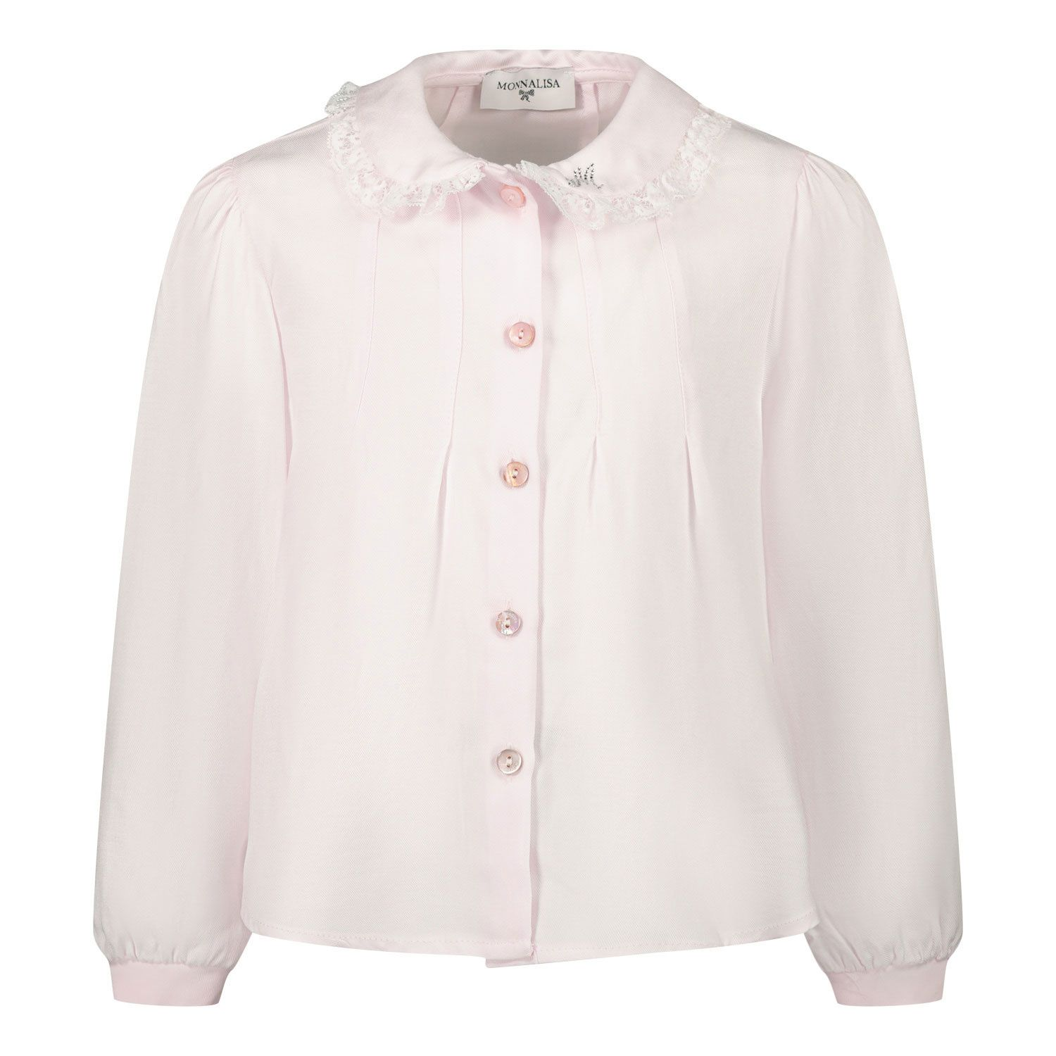 Picture of MonnaLisa 316301A4 baby blouse light pink