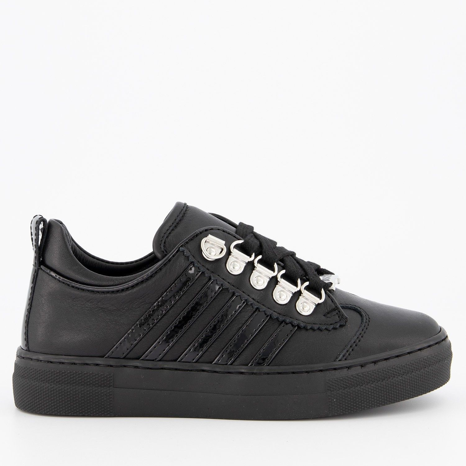 Picture of Dsquared2 62290 kids sneakers black