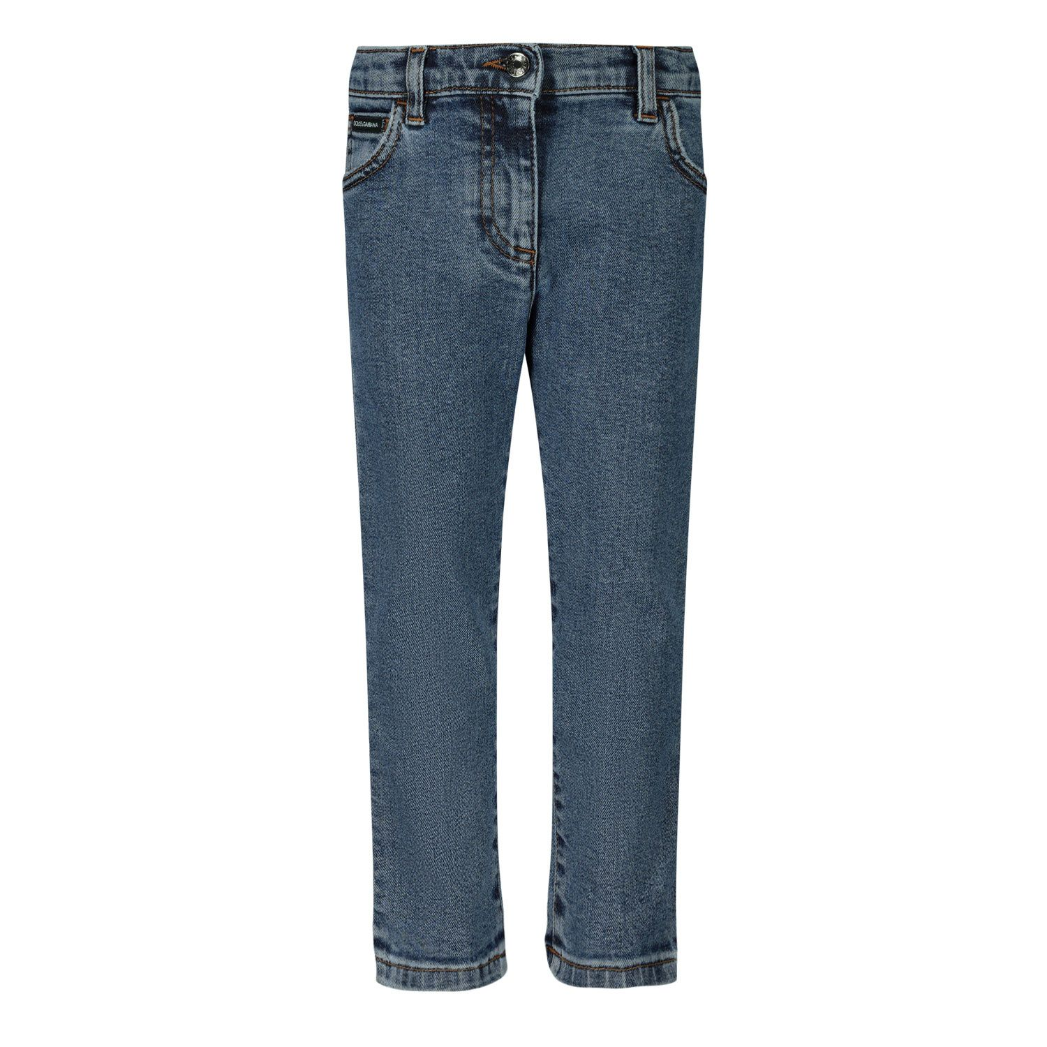 Picture of Dolce & Gabbana L21F60 baby pants jeans