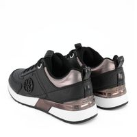 Picture of Guess FL5MYNFAL12 womens sneakers black
