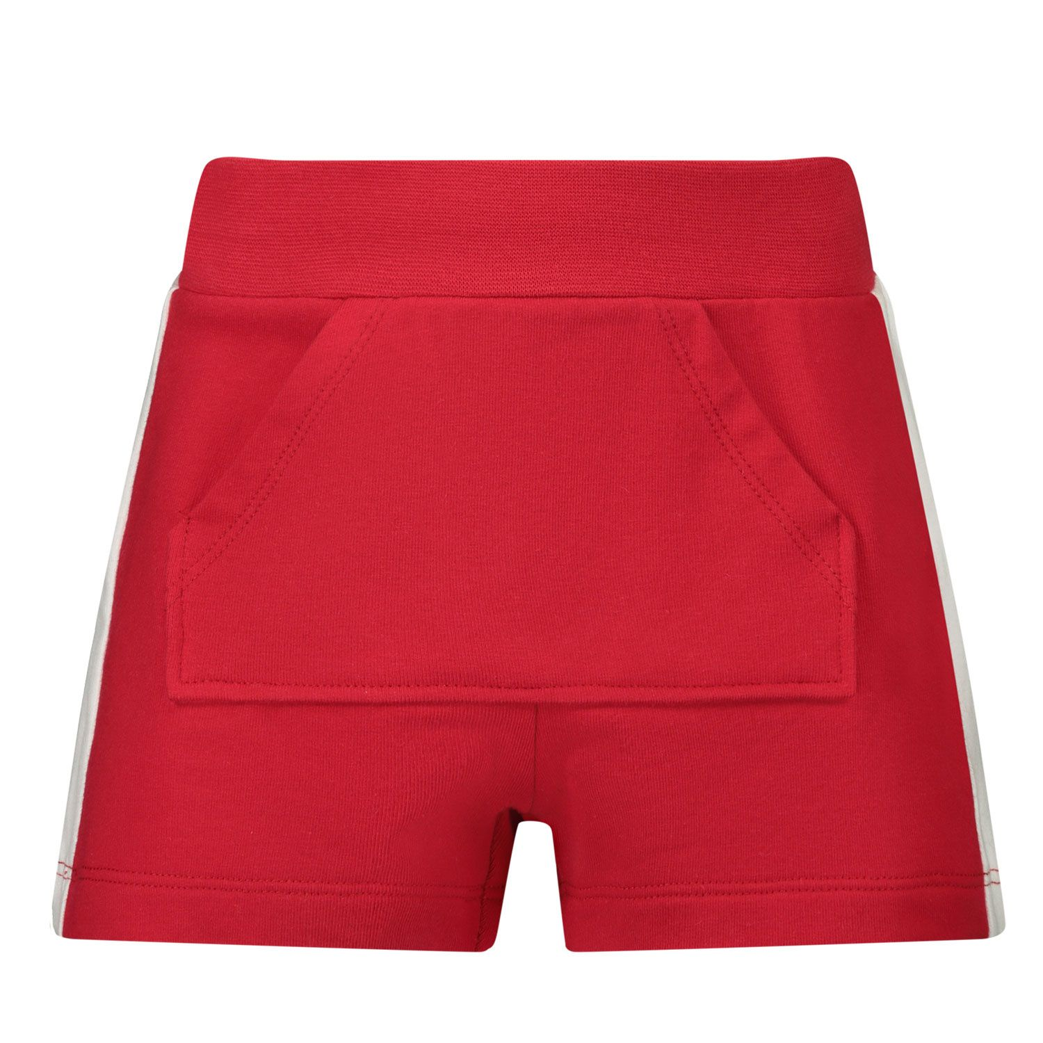 Picture of MonnaLisa 397411R1 baby shorts red