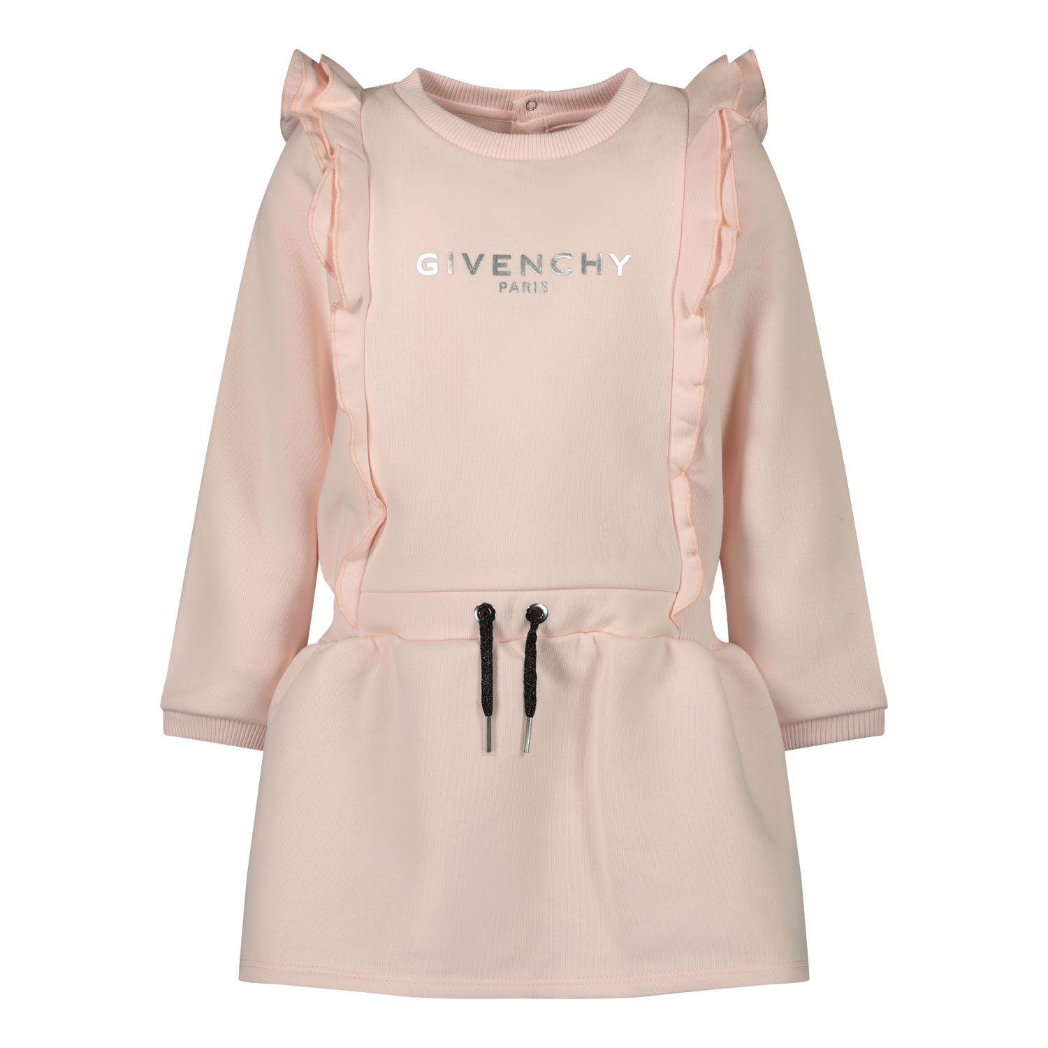 Picture of Givenchy H02061 baby dress light pink