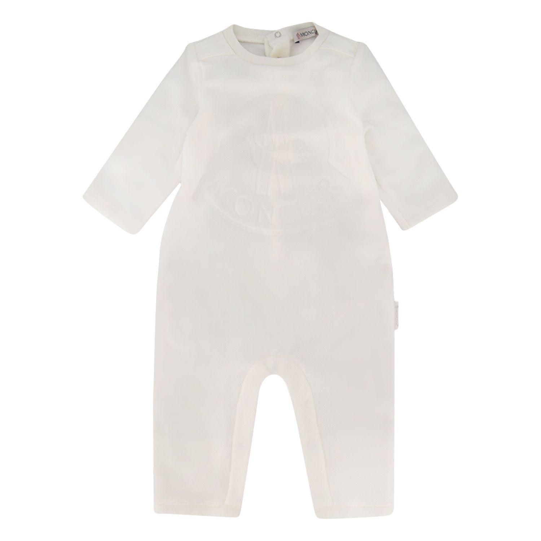 Bild von Moncler 8O60000 Babystrampelanzug Creme