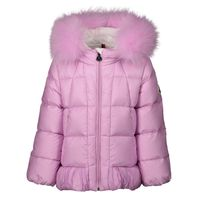 Picture of Moncler 4634625 baby coat light pink