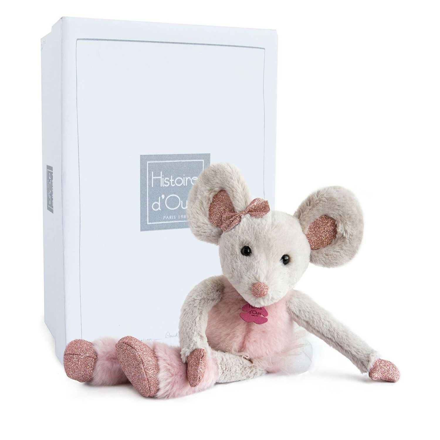 Picture of Doudou et Compagnie HO2649 baby accessory old pink