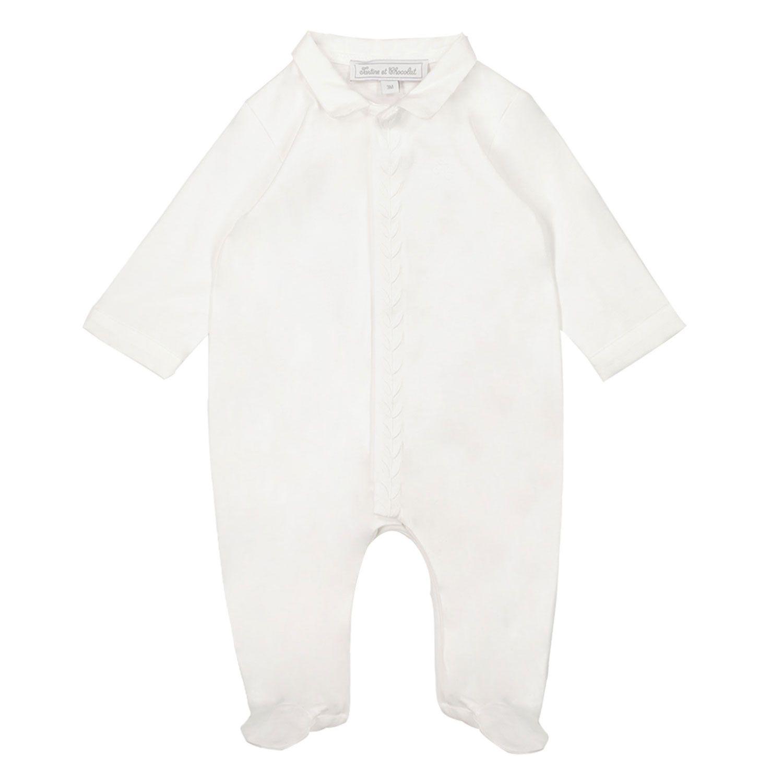 Bild von Tartine et Chocolat TS54131 Babystrampelanzug Weiß