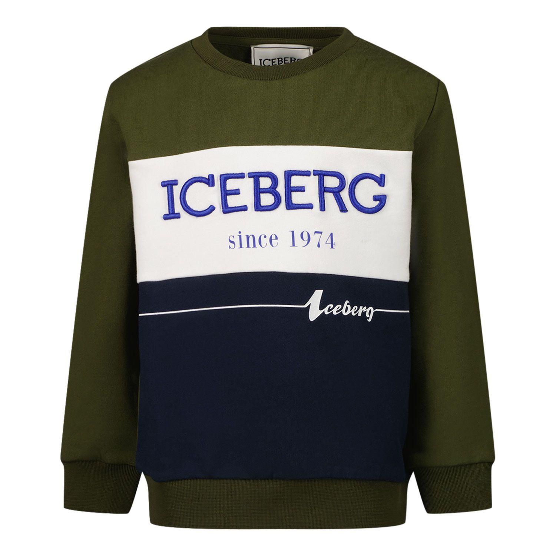 Bild von Iceberg MFICE2323B Babypullover Camouflage