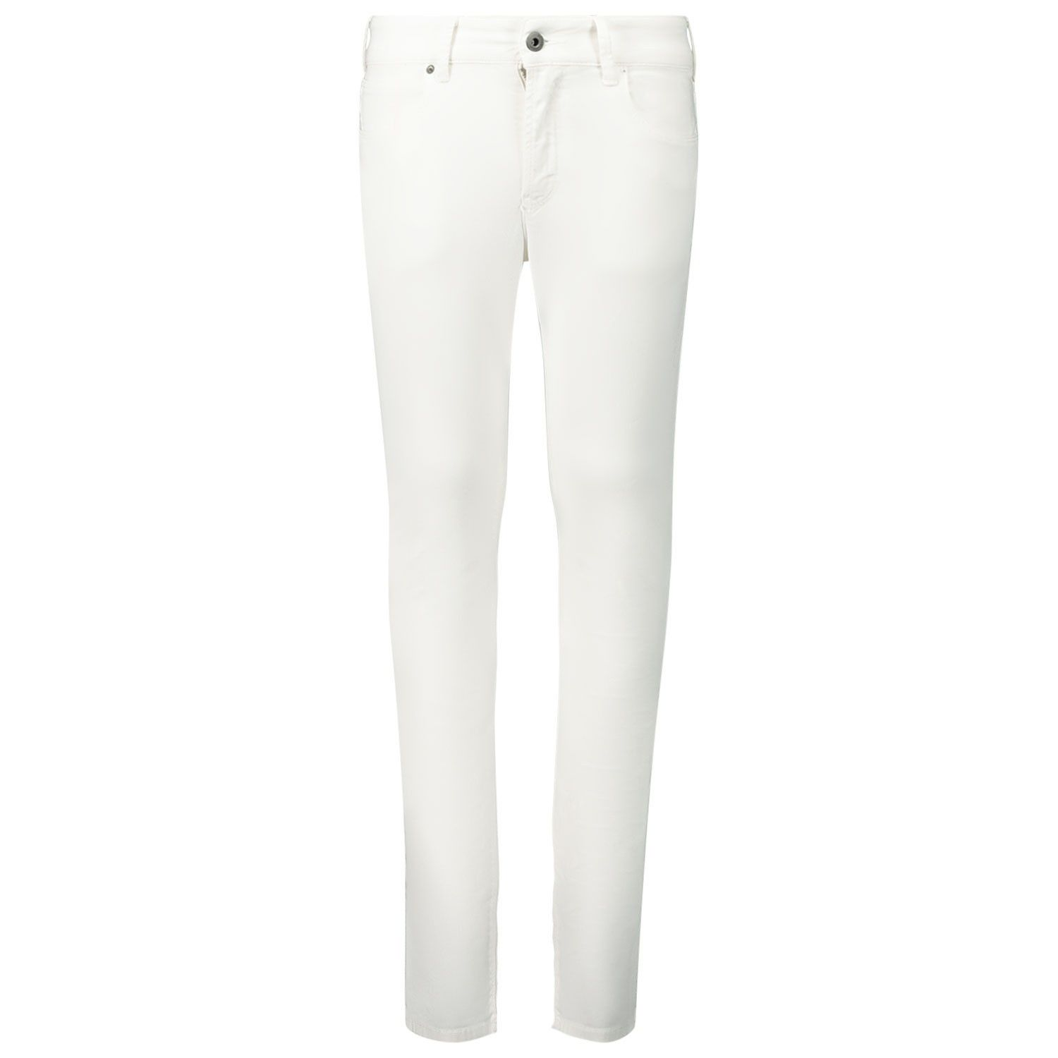Picture of Armani 3H4J06 1N4ZZ kids jeans white