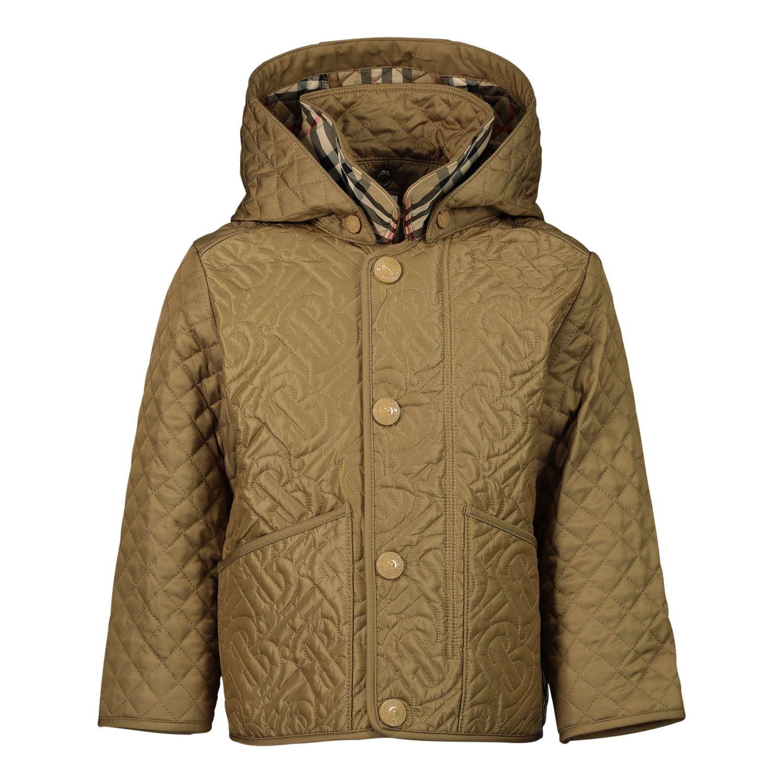 Picture of Burberry 8036575 baby coat beige