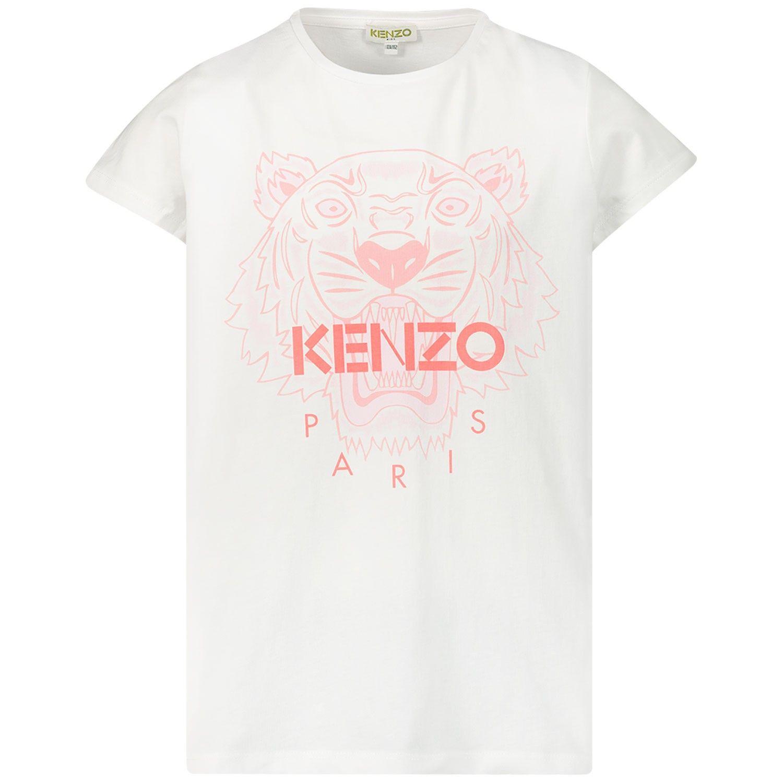 Bild von Kenzo 10258 Kindershirt Weiß