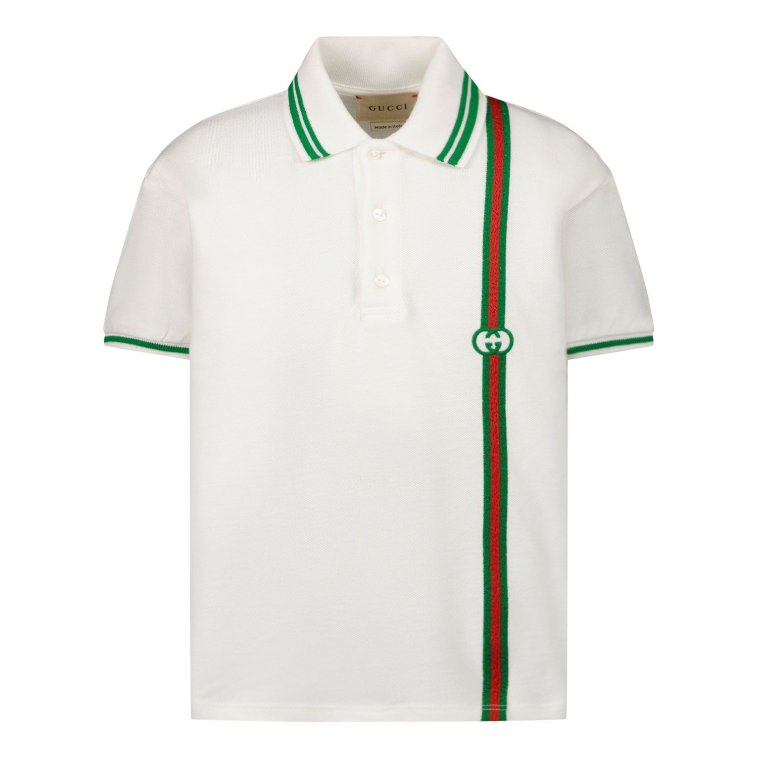 Afbeelding van Gucci 638455 baby polo wit