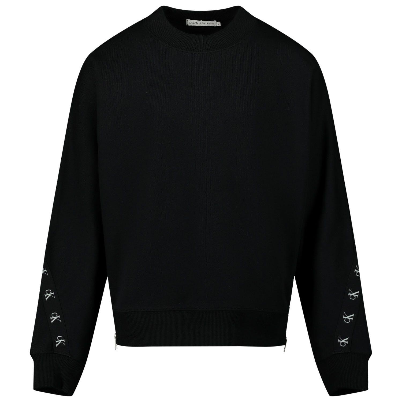 Picture of Calvin Klein IG0IG00687 kids sweater black